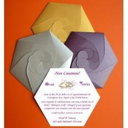 Invitación de boda espectacular 2