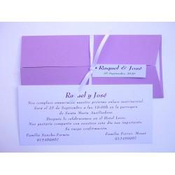 Invitación tríptico lila 1