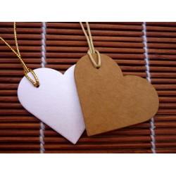 Tarjeta para tus obsequios corazón grande