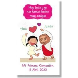 Recordatorios de comunión Jesús