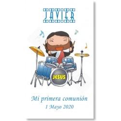 Recordatorios comunión Jesús Músico