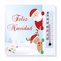Imanes termómetro como obsequio de Navidad