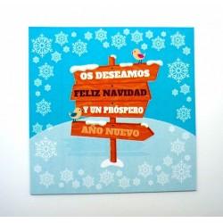 Imanes de Navidad como regalo