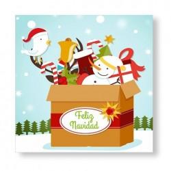 Imanes como detalle de Navidad