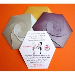 Invitación de boda espectacular 3